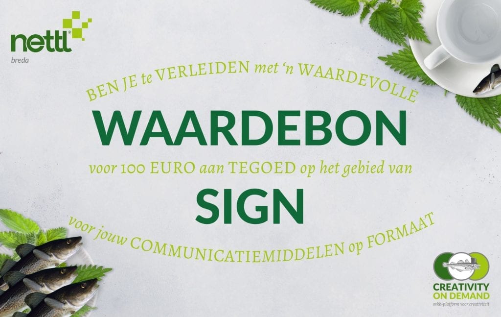 COD-NB Waardebon - Sign