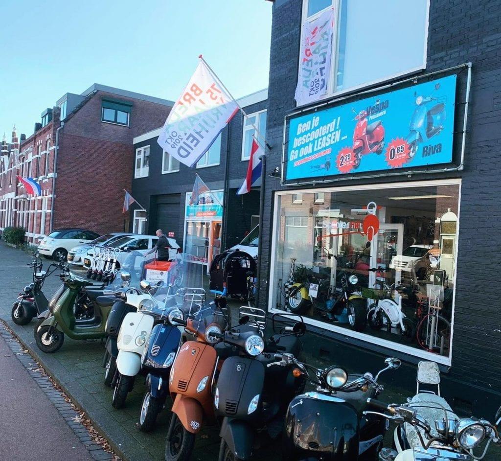 Scooter Hill Breda